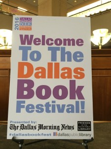 Welcome Dallas Book Festival 2016