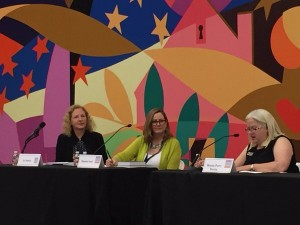 Keeping Dallas in Suspense panel, 2016 Dallas Book Festival