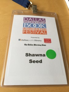 Dallas Book Festival badge
