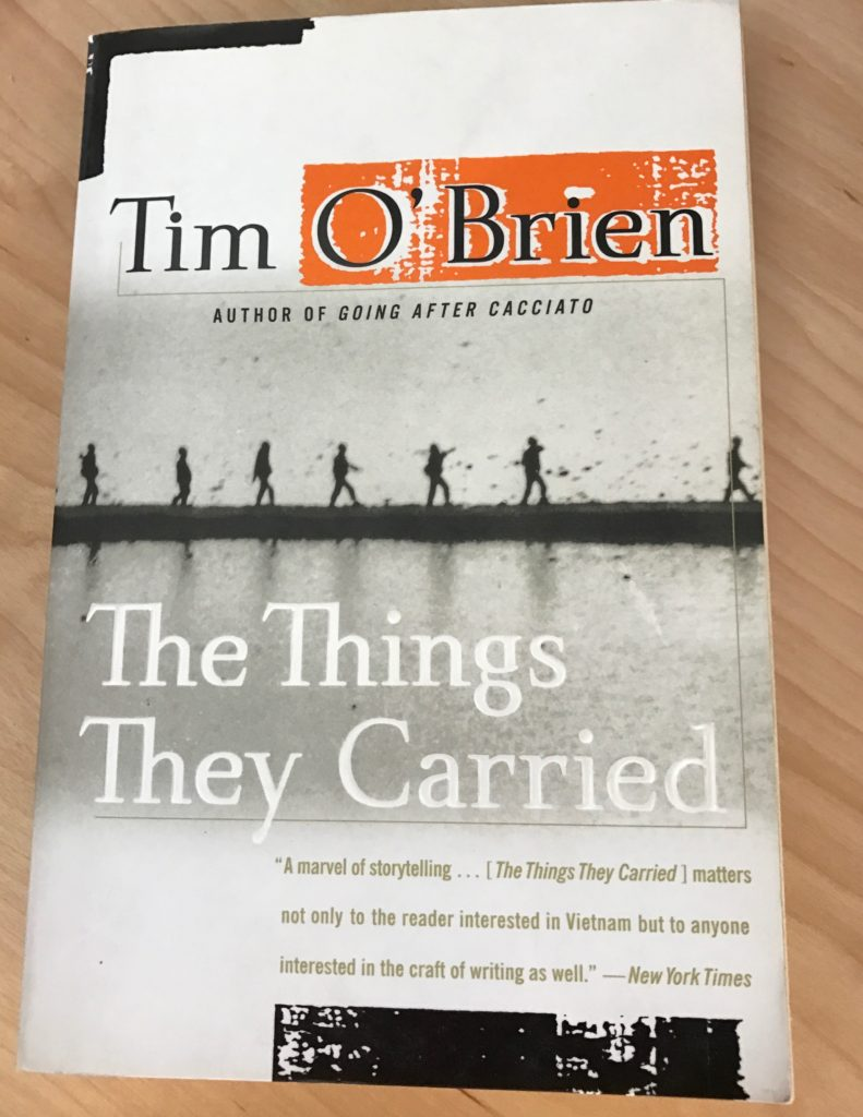 the theme of baggage that people carry in the things they carried by tim obrien Carried and the reason they carry  they carried all of the emotional baggage.